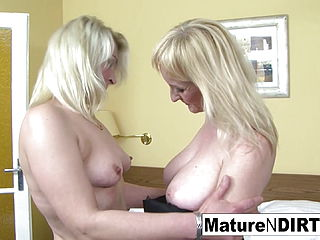 2 blondie grandmothers have an multiracial 4 way