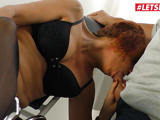 LETSDOEIT - Nymphomaniac Granny Tears up Mischievous Doc