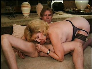2 mischievous mature blondes unsheathe how much they enjoy to get pounded by junior boys
