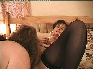 Horny elderly Alison will rail any willing trouser snake that comes her way