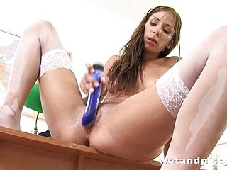 Impressive mature chick embodies her fetish fantasy