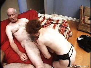 Linda may be an older granny, but she sure has a surly vulva for kinky elderly boys
