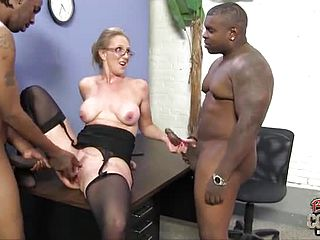 Epic huge titted mature girl providing an outstanding hj