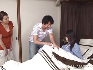 Incredible sex with the Asian mature Yuuko Kuremach