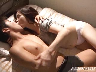 Mature Asian is fucked by a horny stud