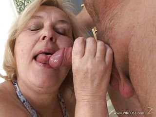 Mature blondes fucked silly by a guys thick cock