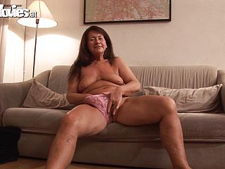 Slutty grannys fucked until her mouths filled by cum