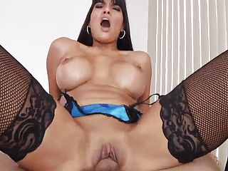 Epic dusky Cougar Mercedes Carrera love buttfuck smashing