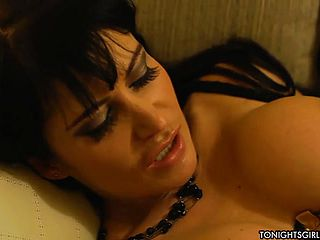 Mellow dark haired mature damsel Eva Karera in highly warm hard core vid