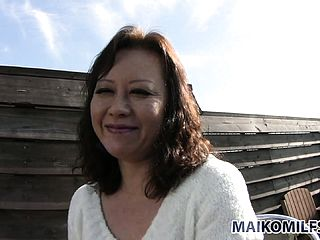 Kinky Asian milf with a super cute grin begins on a quest to bring her wishes to life