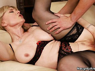 With Nina Hartley you understand that talent isnt something you liberate while aging