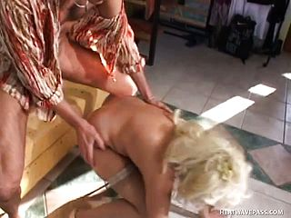 Aged gal Mandy needs some rigid youthful spear in her liberate pussy
