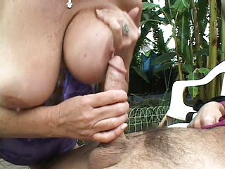 Older Milf found a youthfull meatpipe in the surroundings to take care of her needs