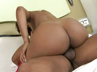 Taunting busty mexican mature nymph got an ass fucking humping