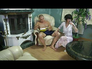 Having a thing for suspended studs a mummy tempts her muscle neighbor into pummeling