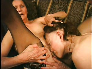 Mature nymphs are never too older to get their ultra kinky beavers sated