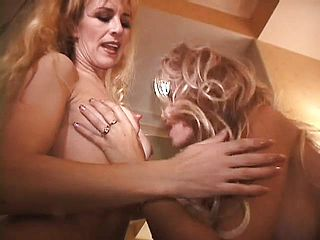 Super naughty mature femmes drive each others twats to powerful sheer pleasure