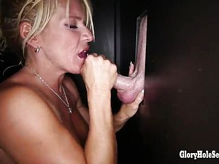 Super sexy big boobed Milf Gina West is making an epic Oral job