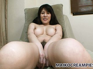 In the shower, the passionate Japanese honey Izumi unsheathes her great breasts and sublime arse